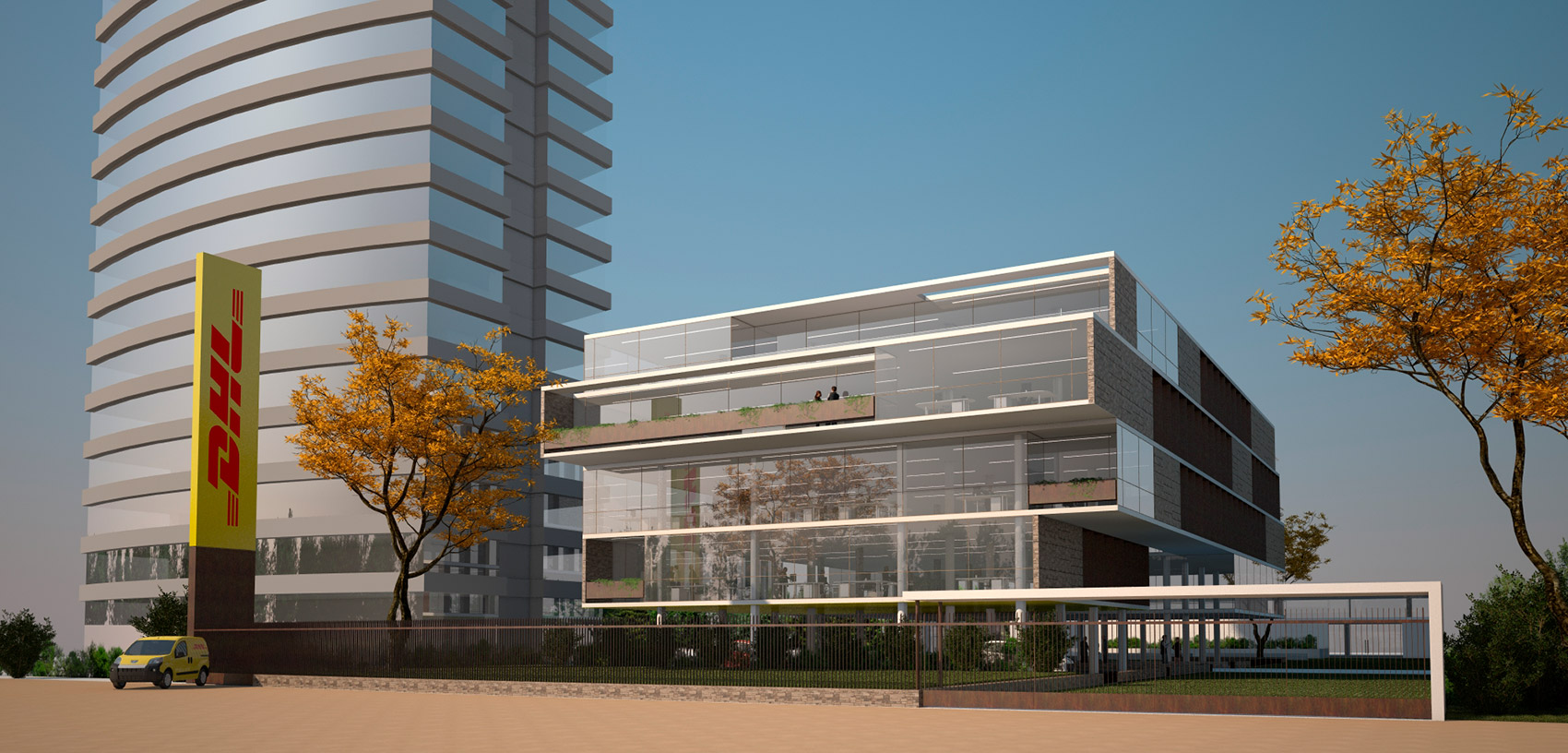 Edificio DHL Lagos
