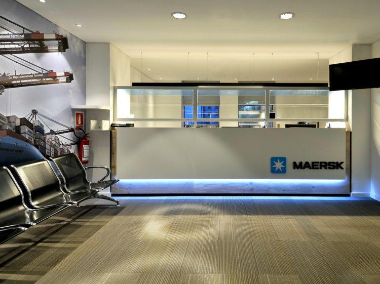Oficinas Maersk Uruguay